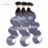 Cabelo peruano de Ombre do Virgin do cabelo humano da cor de Hotselling