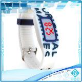 Tag do Wristband da escala longa RFID para o bracelete do silicone do evento desportivo NFC