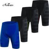 La compresión de los hombres de Dk0500 Neleus pone en cortocircuito la ropa Legging de la gimnasia de la aptitud