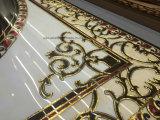 Décoration en bois de maison de tapis de tuile intérieure