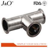 Encaixes de tubulação sanitários da câmara de ar da braçadeira do cotovelo do aço inoxidável Y