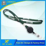 Tela/militares/satén al por mayor de encargo promocional/correa suave/impresa/del poliester/del cuello de la cinta (XF-LY10)