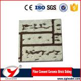 Rivestimento del cemento della fibra del mattone della parete esterna