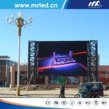 Mrled venda ao ar livre inteligente & energy-saving de P16mm do diodo emissor de luz de indicador da tela