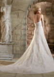 2016 мантий 2779 венчания Beaded Mermaid шнурка Bridal