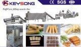 고용량 분첩 옥수수 코어 기계를 만드는 채우는 간식