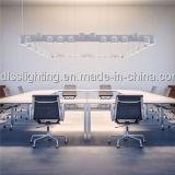 Simples de uma forma de linha, iluminação de suspensão de alumínio branco para decorar a sala de desenho