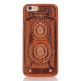 Geval van de Telefoon van de Cel van de douane het Houten voor iPhone 7
