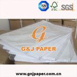 Papel do Sublimation do tamanho A4 para a matéria têxtil de algodão