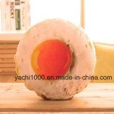 Almohadilla rellena formada movible y lavable del huevo escalfado