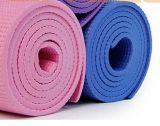 Couvre-tapis de yoga d'exercice d'OEM NBR