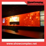 Alquiler de alto brillo ligero al aire libre a todo color de la pared del LED (640 mm * 640 mm pH 6 / pH 8)