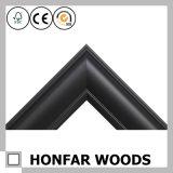 ホーム壁の装飾のために形成する白くおよび黒いブナの木フレーム