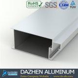 Profil en aluminium personnalisé par porte de guichet avec la couleur différente