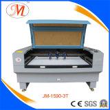 Dreiergruppe geht Laser-Ausschnitt-Maschine für schnellen Ausschnitt voran (JM-1590-3T)