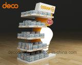 Papierfußboden-Ausstellungsstand-Pappausstellung-Standplatz für Einzelverkauf
