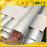 Alumínio de alumínio anodizado revestido pó do perfil para a decoração da mobília