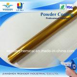 Capa de pintura del polvo del oro para el metal