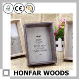 Caixa de sombra de madeira criativa para quadro de decoração para casa