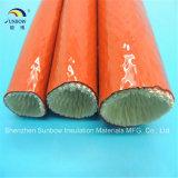 Stahl- und Glaspflanzensilikonumhüllte Kabel-und -schlauch-Schutz-Fiberglas-umsponnene Feuer-Hülsen