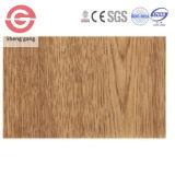 Techo laminado plano de la pared Panel/PVC del PVC del material de construcción de China para la decoración de interior