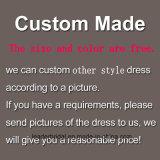 Vestito da cerimonia nuziale nuziale dei cristalli degli abiti di sfera dei manicotti lunghi 2017 M2889