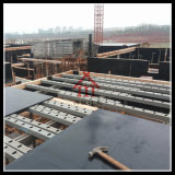 Vigas de aço da sustentação da plataforma da luz do sistema do molde da laje