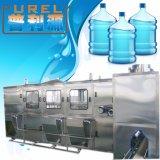 Cadena de producción automática del barril de 5 galones para el agua potable