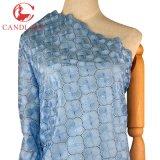 Materia textil de la tela de la gasa del algodón del color del azul de cielo de Candlace para el paño de la boda