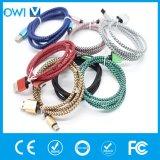 Chanvre coloré tricotant le Type-c câble de Charger&Transfer
