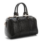 hand Designer OEM 숙녀 끈달린 가방 에나멜 가죽 어깨 핸드백