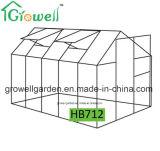 2.1m*3.5mのポリカーボネートおよびAlu。 フレームの趣味の温室(HB712)