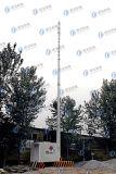 Station de base de télécommunication Integrated galvanisée d'IMMERSION chaude
