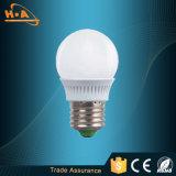 Bulbo de la fuente de luz 3W E27 LED de los nuevos productos LED