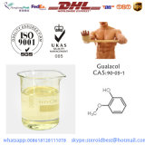 99.5% Guaiacol farmacêutico da classe para a dissolução esteróide 90-05-1