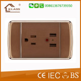 3 مجموعة إستعمال بيتيّ كهربائيّة جدار مفتاح