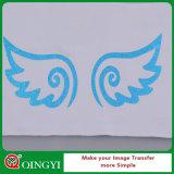Qingyi Fabrik-Preis-und Schönheits-Funkeln-Wärmeübertragung-Vinyl für Kleid