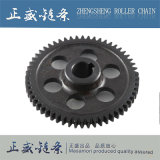 Rodas dentadas Chain do rolo do carbono e do aço inoxidável com alta qualidade