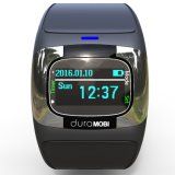 0.96 Zoll OLED IP65 imprägniern intelligente Uhr mit Doppelbändern Bluetooth u. dynamischem Puls, ECG, Blutdruck, Schlaf-Monitor 2