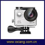 Mini WiFi 4k Câmera subaquática do esporte de 30m com Ambarella A12s75 Soc e sensor Ox-H9plus de Sony Coms