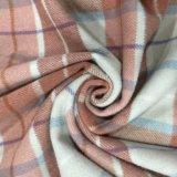 De warme Overjas van de Stof van de Wol van de Controle van Kleuren