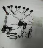 Movimiento barato 6000n del actuador 100m m del motor del masaje