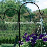 El jardín adornó el gancho de leva colgante de la flor de acero para la venta (la fábrica)