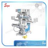 Impressora de superfície com tampa de calcanhar com veia clara