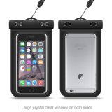 """Malote impermeável universal do saco seco de telefone de pilha do caso para o telefone até 6.0 """""""