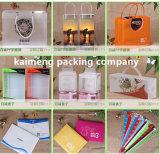 デザイン(プラスチックギフト袋)を折る最上質の紫外線印刷された明確なプラスチックギフト袋