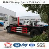 camion di immondizia di sollevamento del braccio di amo dell'euro 5 di 8cbm Dongfeng con Cummins Engine