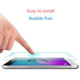 Protector de cristal de la pantalla del LCD del móvil cristalino para Samsung A8 2016