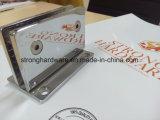 SH01sまっすぐな端90degreeの不動の浴室ガラスクランプ