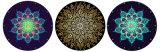 Volledig - de Douane van de grootte om het Tapijt dat van de Mat van de Meditatie van de Mat van de Yoga wordt afgedrukt
